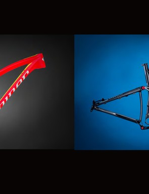 Niner offers the JET 9 Carbon in two colors and four complete models
