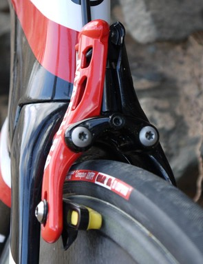 The brakes were co-developed between Cervelo and Magura – we're hoping they'll stay