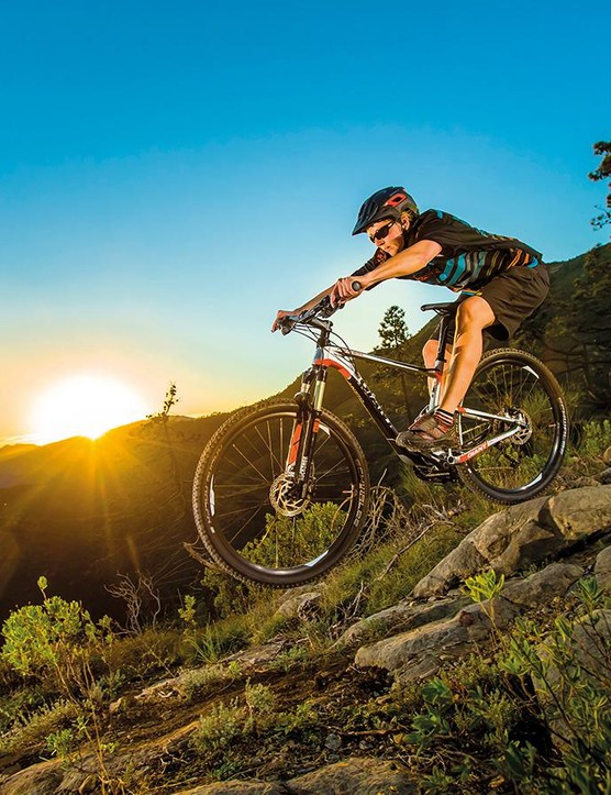 If you're happy with the taming of its racy edge, the RockShox and Shimano Deore equipped Anthem 3 represents an absolute bargain