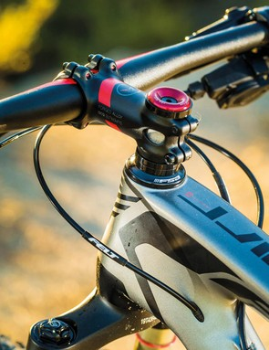 Felt's super fast handling might not be fashionable, but it's brilliant for weaving through tight, technical singletrack or nailing turns and traction on steep climbs