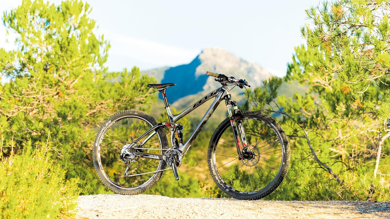 The Edict's steep head angle and relatively long rear end geometry is the opposite of the slack front, tight rear template favoured by enduro-style trail bikes