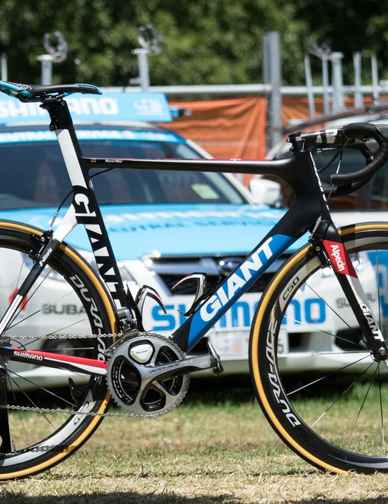 Marcel Kittel's Giant-Alpecin team bike - 2015 Giant Propel Advanced SL