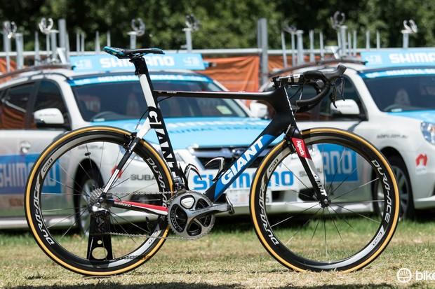 Marcel Kittel's Giant-Alpecin team bike - 2015 Giant Propel Advanced SL