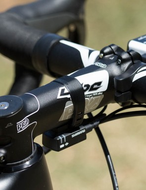 Another look at 140mm PRO stem. If this stem could talk, it would tell you it hates it's job