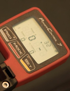 The majority of SRM riders will use SRM's own Power Control 7 head unit