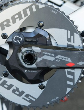 Pro-Conti team Drapac is using Quarq too. For 2015, SRAM has far more presence within women's cycling and pro-conti then it does men's WorldTour