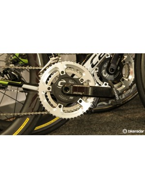 Cannondale-Garmin rider on a SRM
