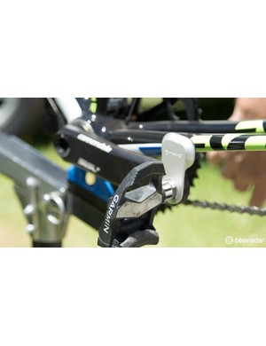 Garmin Vector pedals are being used by Cannondale-Garmin riders, just not all Cannondale-Garmin riders…