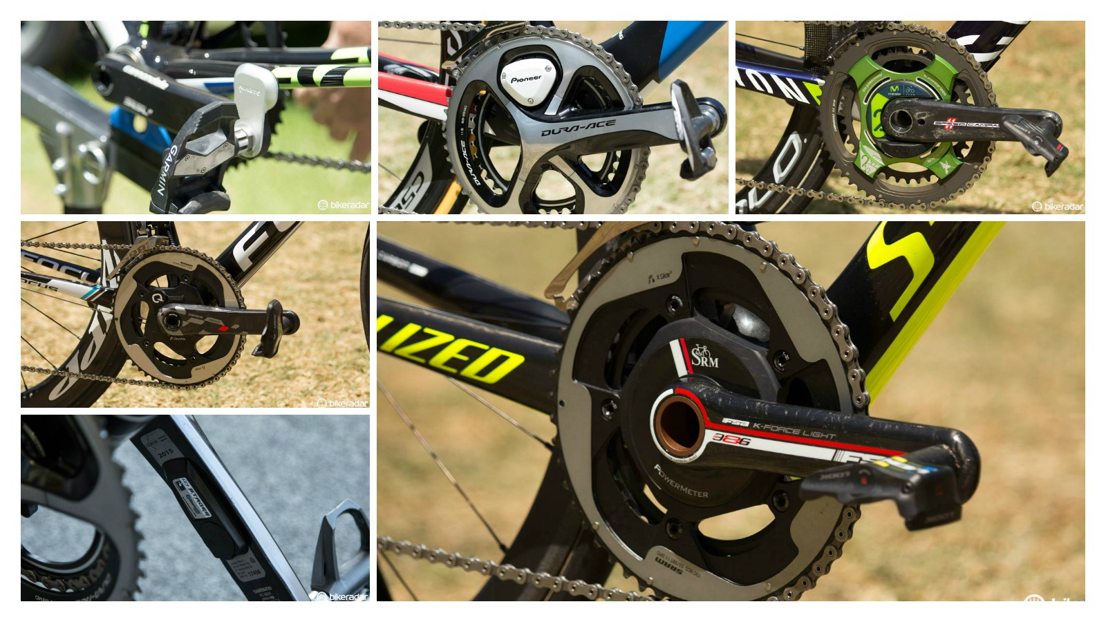 The power meters of the 2015 WorldTour