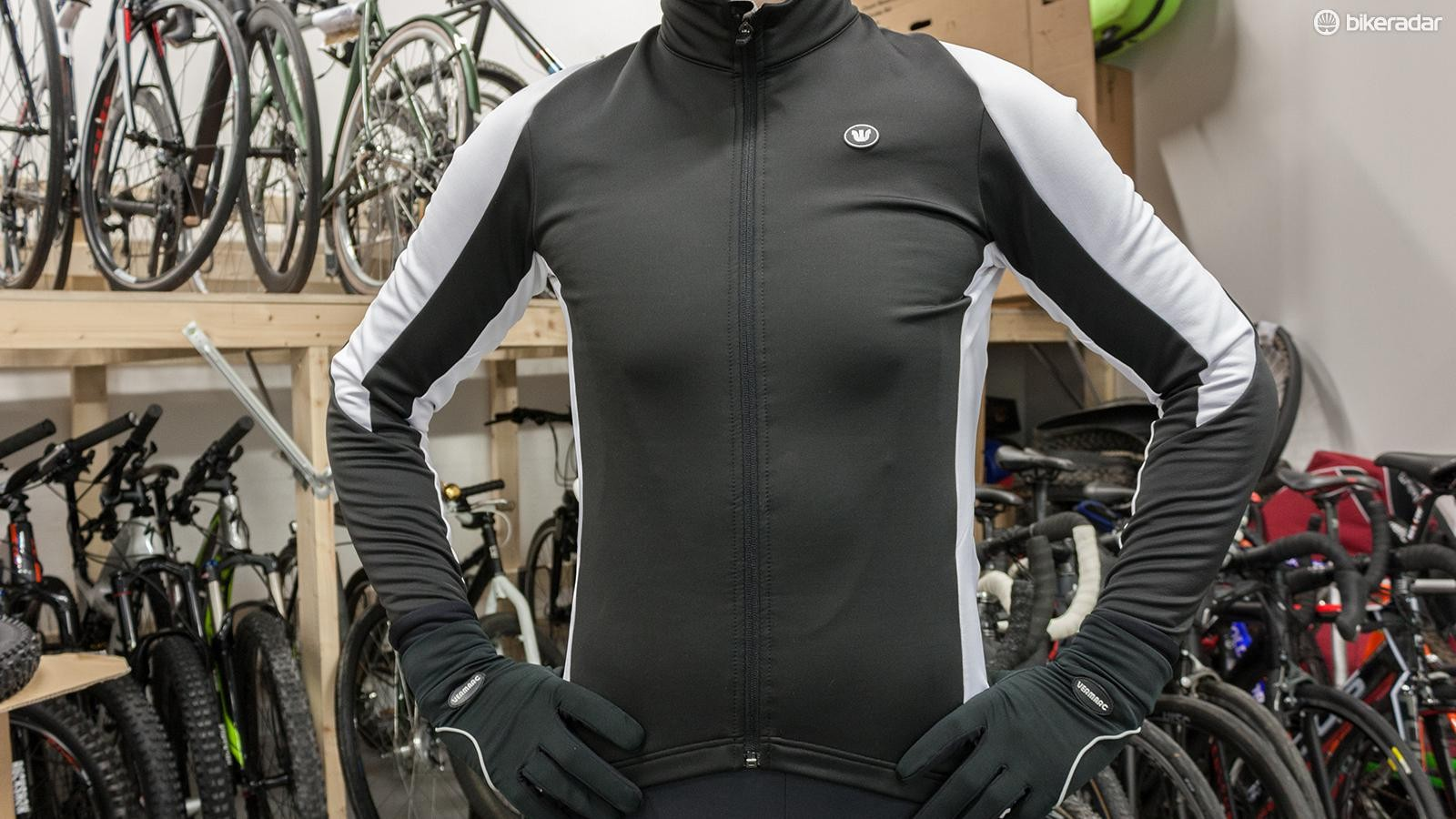 The Prima PRR Technical jacket has a close and comfortable fit