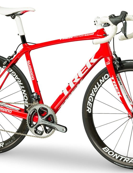 The Trek Domane will be used to soak up the cobbles of northern France and Belgium