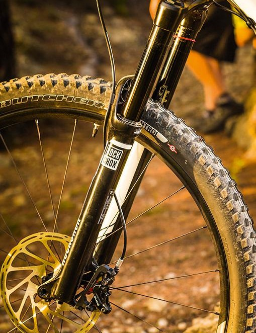 160mm travel Pike fork is an excellent all-round performer