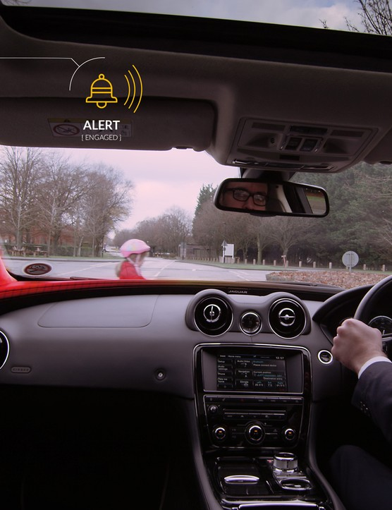 Audio alerts and colours will allow drivers a better sense of movement around them