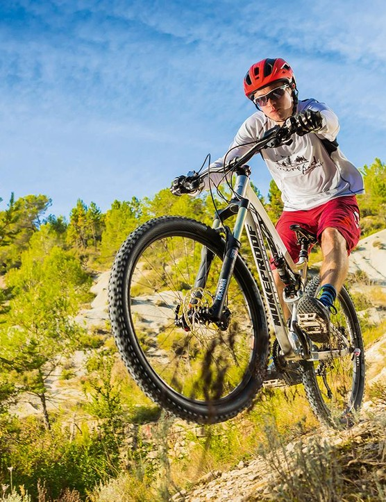 While climbing is something of a compromise, the TR is well capable of dominating the descents