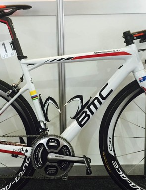 Cadel Evans' farewell BMC Teammachine SLR01