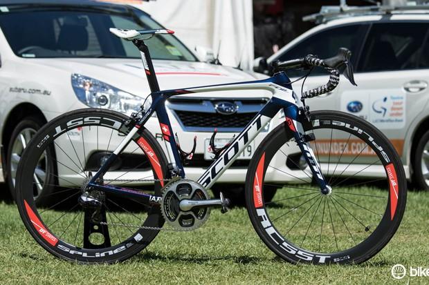 Pro bike: Heinrich Haussler's Scott Foil