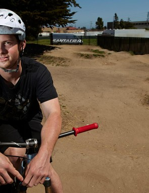 Mackinnon has lived in Santa Cruz his whole life, and thinks the area's great trails and year-round good weather are key to its status as a hub for mountain bike industry