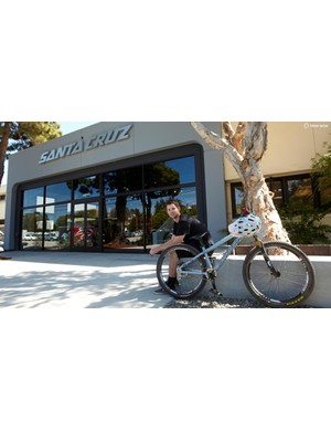 Kiran Mackinnon, Product Developer at Santa Cruz Bicycles