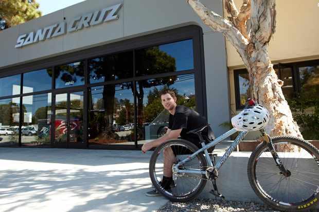 Kiran Mackinnon, Product Developer at Santa Cruz Bicycles