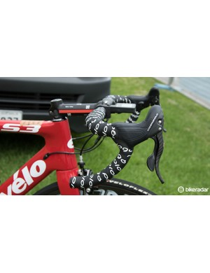 Grippy Prologo OneTouch tape is Bobridge's choice