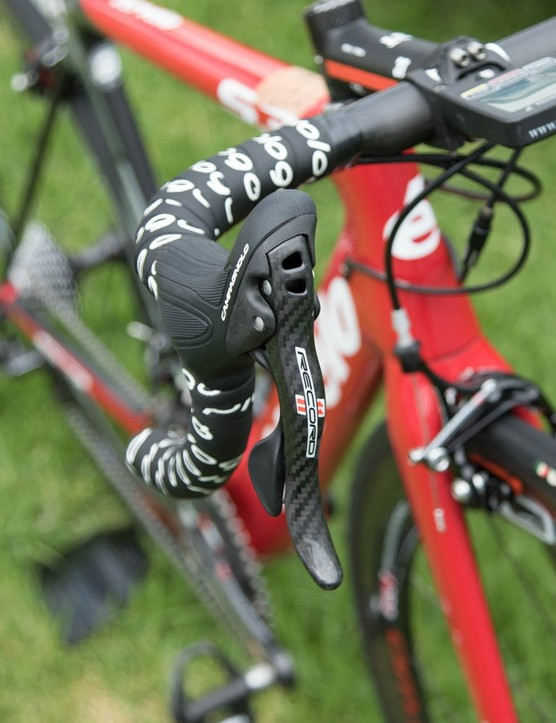 We're so used to seeing Super Record at this level, but Campagnolo Record 11-speed is still one of the very best
