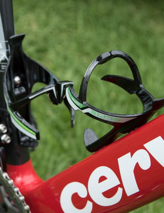 Elite Mio Sior carbon cages carry hydration