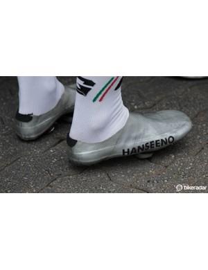 What's a WorldTour shoe gallery without Adam Hansen's own creations - Hanseeno