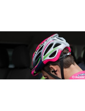 And a view at the back of the new Suomy helmet