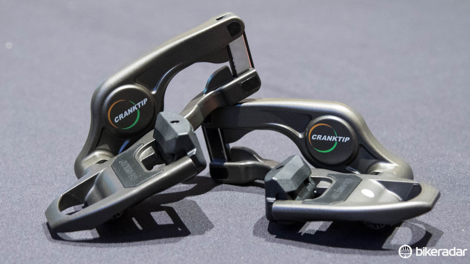 Cranktip pedals are new on the scene, with a unique dual swing-arm design