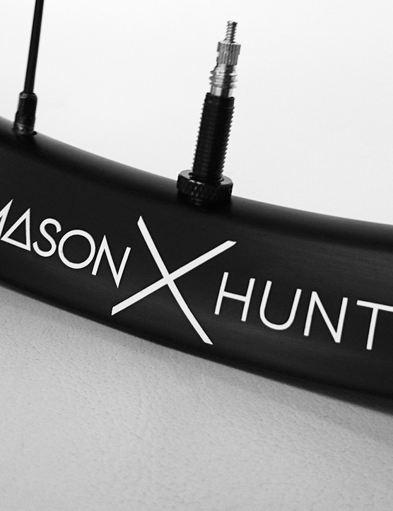 The Mason X Hunt will be the first wheel to go on sale from HuntBikeWheels