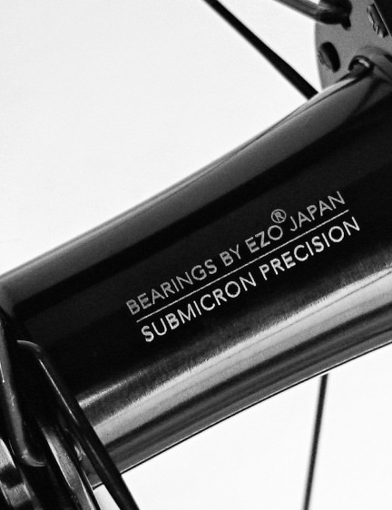 The hubs feature sealed bearings from EZO Japan – we're assuming no thru-axles here