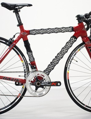 The Vortex is Razik's first bike