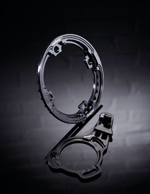 Hope IBR chainring (32T) and Finger Guide ISCG05 (32-36T)