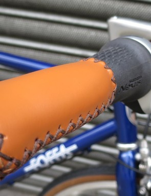 The stitched grips are a nice touch that adds to the overall styling