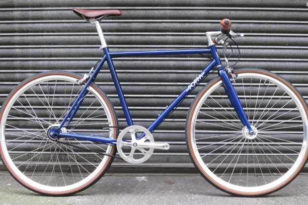 The Foffa Urban is a good-looking steel-framed city bike