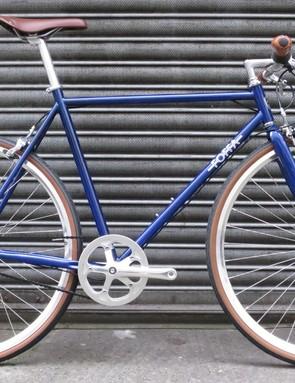 The Foffa Urban is a good-looking steel-framed city bike