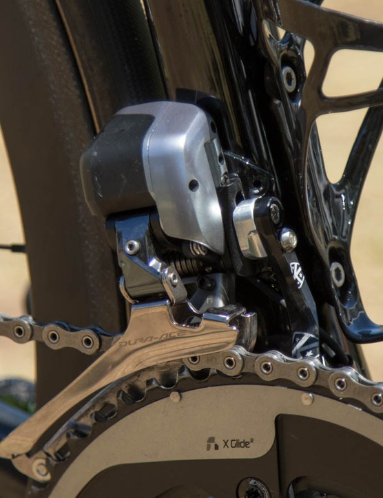 Another look at the FSA/Shimano/SRAM combination