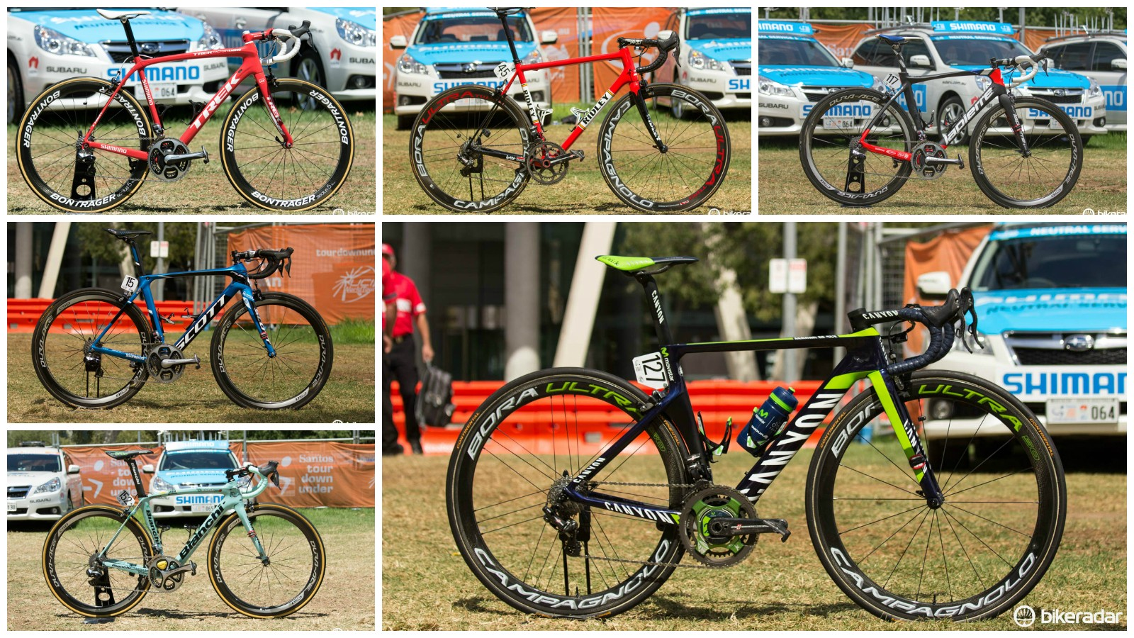 Bikes of the WorldTour - as seen at Tour Down Under 2015