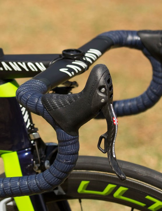 Movistar may have the dream bike of many given the Campagnolo Super Record EPS group