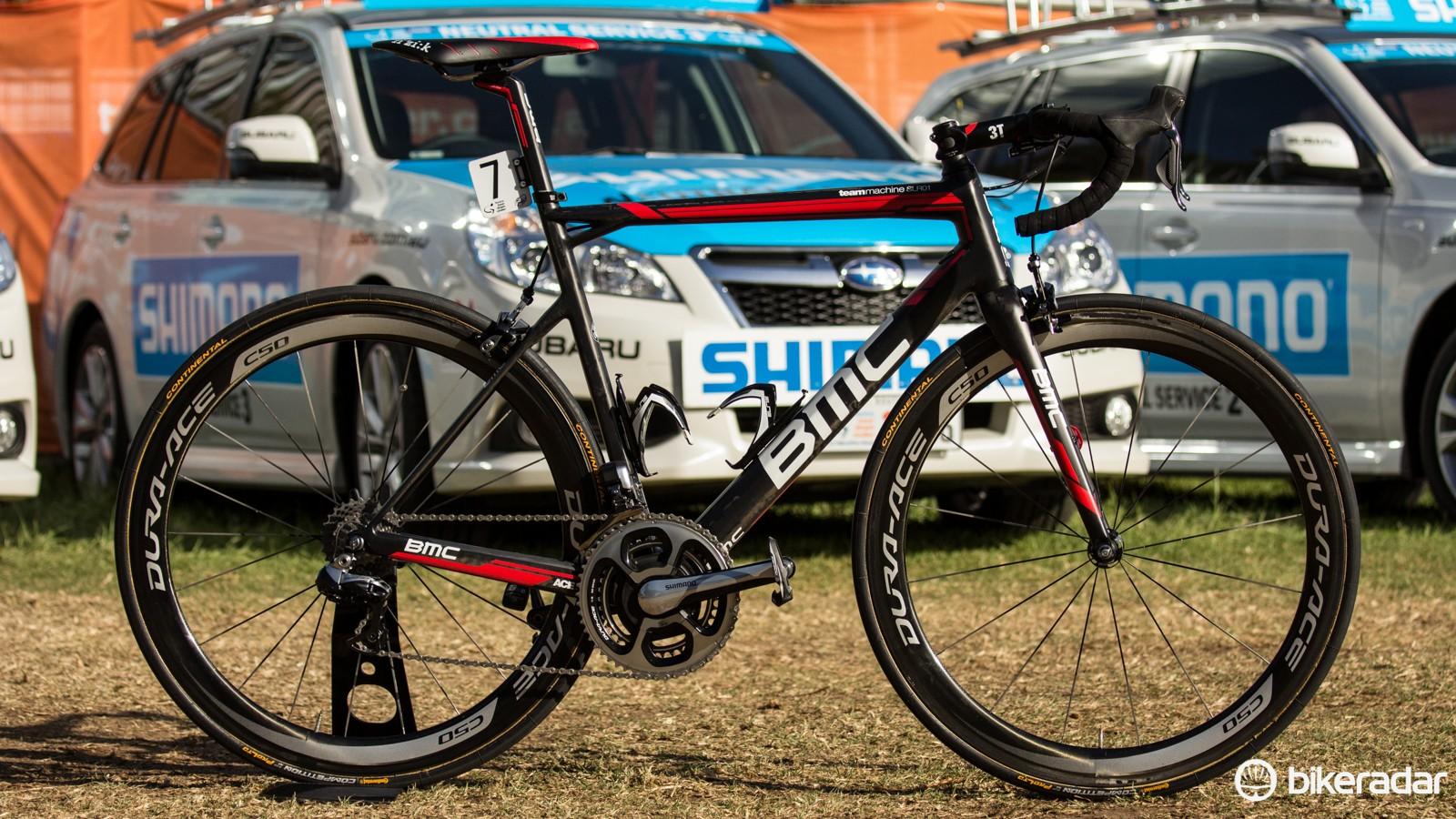 Rohan Dennis' Tour Down Under-winning BMC TeamMachine SLR01