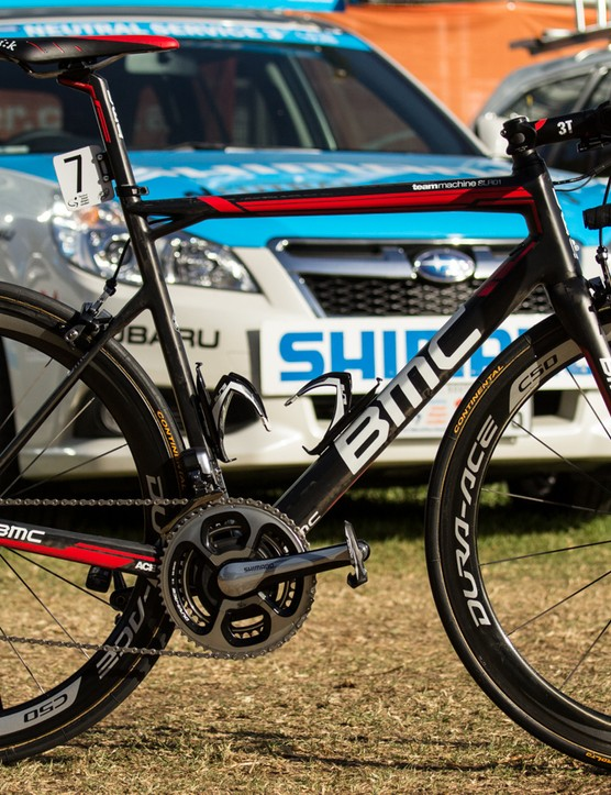 Rohan Dennis' Tour Down Under-winning BMC TeamMachine SLR01