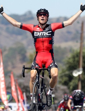 Rohan Dennis took the lead on the third stage and held it till the very end