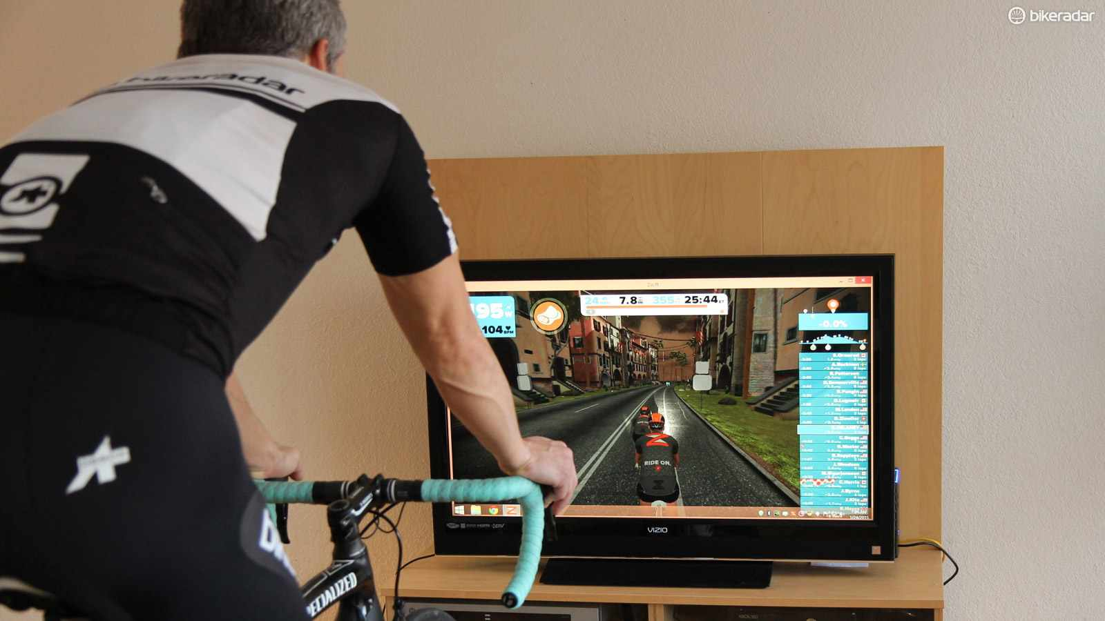 Zwift is the best interactive riding experience we have tried