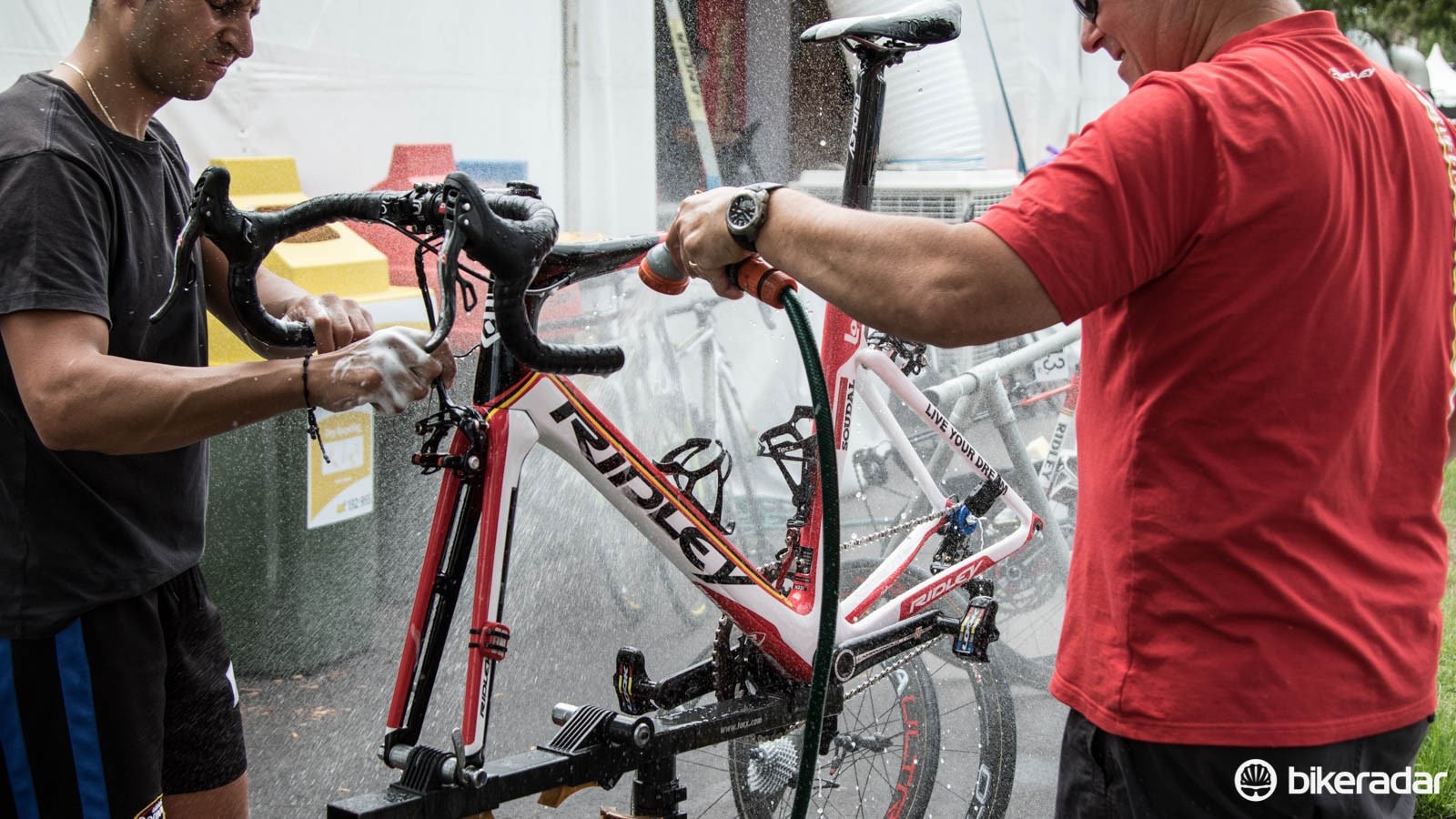We go behind the scenes at the Tour Down Under - the WorldTour's first race of the season