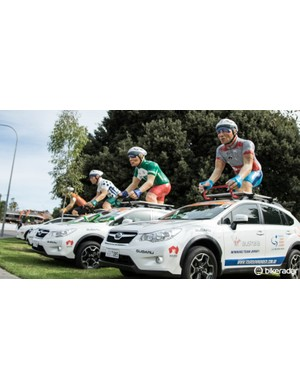 These roof ornaments are an iconic sight at the Tour Down Under