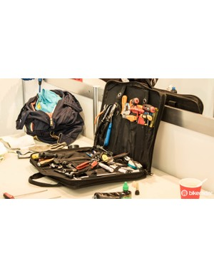 Many mechanics leave their bigger tool boxes at home and travel with lighter tool bags