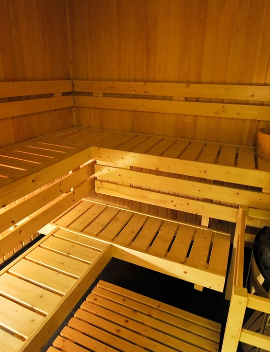 Saunas are becoming an increasingly popular method of acclimatising to hot weather