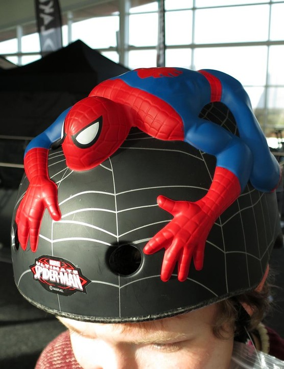 You have to love this Marvel Spiderman helmet from Crazy Stuff. It's £34.95