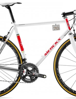 The limited-edition EDDY70 line commemorates Eddy Merckx's forthcoming 70th birthday
