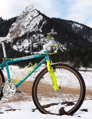Juli Furtado hasn't raced this steel Yeti FRO in 25 years but if you cock your ears just right, you can almost still hear the roar of the crowd